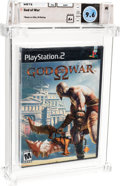 Video Games:Playstation, God of War - Wata 9.6 A+ Sealed [Sony Security Strip], PS2 Sony 2005 USA....