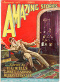 Pulps:Science Fiction, Amazing Stories V1#10 (Ziff-Davis, 1927) Condition: VF-....