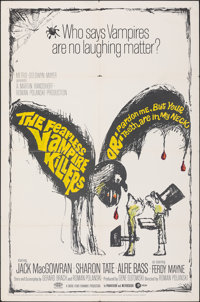 """The Fearless Vampire Killers (MGM, 1967). Folded, Very Fine. One Sheet (27"""" X 41""""). Comedy"""