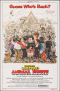 "Movie Posters:Comedy, Animal House (Universal, R-1979). Flat Folded, Very Fine-. One Sheet (27"" X 41"") Style A, Rick Meyerowitz Artwork. Comedy.. ..."