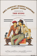 Movie Posters:Crime, The Sting (Universal, 1973). Flat Folded, Very Fine.