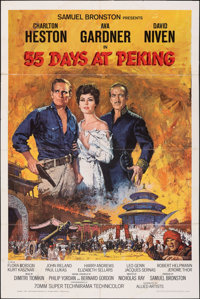 "55 Days at Peking & Other Lot (Allied Artists, 1963). Folded, Overall: Fine/Very Fine. One Sheets (2) (27"" X 41..."