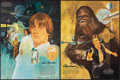 """Movie Posters:Science Fiction, Star Wars (20th Century Fox, 1977). Rolled, Very Fine. Coca-Cola/Burger Chef Promotional Premium Poster Set of 4 (18"""" X 24"""")... (Total: 4 Items)"""