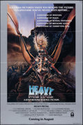 Movie Posters:Animation, Heavy Metal (Columbia, 1981). Folded, Very Fine-. ...