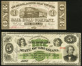New Orleans, LA- New Orleans, Jackson & Great Northern Rail Road Company $1 Nov. 16, 1861 About Uncirculated; New Or...