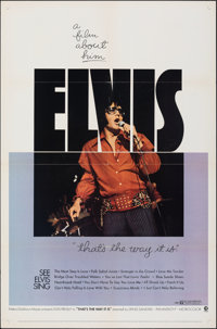 """That's the Way It Is (MGM, 1971). Folded, Fine/Very Fine. One Sheet (27"""" X 41""""). Elvis Presley"""