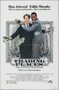 Movie Posters:Comedy, Trading Places (Paramount, 1983). Folded, Very Fine.