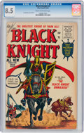Golden Age (1938-1955):Adventure, Black Knight #3 (Atlas, 1955) CGC VF+ 8.5 Cream to off-white pages....