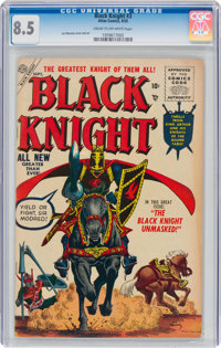 Black Knight #3 (Atlas, 1955) CGC VF+ 8.5 Cream to off-white pages