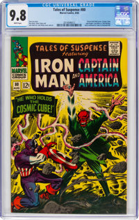 Tales of Suspense #80 (Marvel, 1966) CGC NM/MT 9.8 White pages