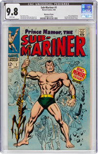 The Sub-Mariner #1 Western Penn Pedigree (Marvel, 1968) CGC NM/MT 9.8 White pages