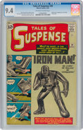 Silver Age (1956-1969):Superhero, Tales of Suspense #39 (Marvel, 1963) CGC NM 9.4 Off-white to white pages....