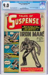 Tales of Suspense #39 (Marvel, 1963) CGC VF/NM 9.0 Off-white to white pages