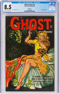 Ghost #2 Northford Pedigree (Fiction House, 1952) CGC VF+ 8.5 Off-white to white pages