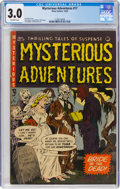 Golden Age (1938-1955):Horror, Mysterious Adventures #17 (Story Comics, 1953) CGC GD/VG 3.0 Off-white pages....