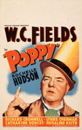 Movie Posters:Comedy, Poppy (Paramount, 1936). Very Fine-. Window Card (...