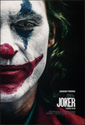 """Movie Posters:Crime, Joker (Warner Bros., 2019). Rolled, Very Fine. One Sheet (27"""" X 40"""") DS Advance. Crime.. ..."""
