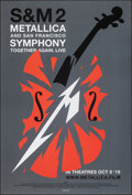 """Movie Posters:Rock and Roll, Metallica & San Francisco Symphony - S&M 2 (Trafalgar Releasing, 2019). Rolled, Very Fine. One Sheet (27"""" X 40"""") SS. Rock an..."""