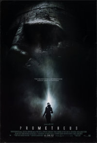 "Prometheus (20th Century Fox, 2012). Rolled, Fine/Very Fine. One Sheet (27"" X 40"") DS Advance, Style A. Scienc..."