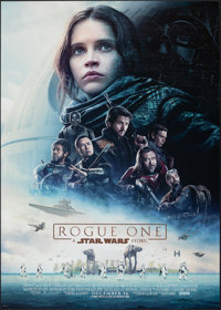 "Rogue One: A Star Wars Story (Walt Disney Studios, 2016). Rolled, Very Fine+. One Sheet (27"" X 40"") DS Advance..."