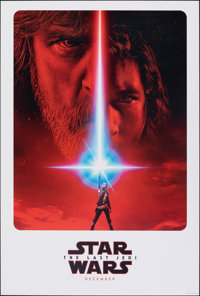 "Star Wars: The Last Jedi (Walt Disney Studios, 2017). Rolled, Very Fine+. One Sheet (27"" X 40"") DS Advance. Sc..."