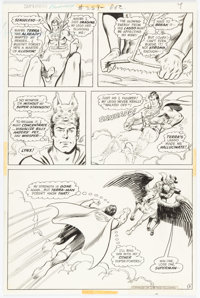 Curt Swan and Murphy Anderson Superman #259 Story Page 8 Original Art (DC, 1972)