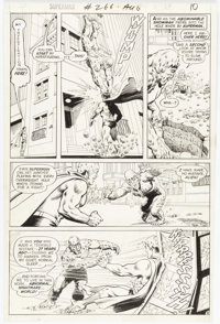 Curt Swan and Murphy Anderson Superman #266 Story Page 8 Original Art (DC, 1973)