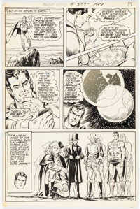 Curt Swan and Murphy Anderson Action Comics #399 Story Page 14 Original Art (DC, 1971)