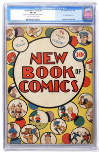 New Book of Comics #2 (DC, 1938) CGC VG- 3.5 Light tan to off-white pages
