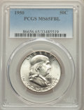 Franklin Half Dollars, 1950 50C MS65 Full Bell Lines PCGS. PCGS Population: (1556/348). NGC Census: (388/59). CDN: $110 Whsle. Bid for NGC/PCGS MS...