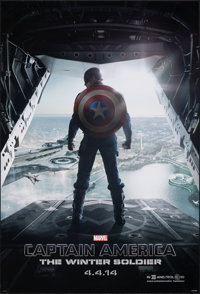 "Captain America: The Winter Soldier (Walt Disney Pictures, 2014). Rolled, Very Fine. One Sheet (27"" X 40"") DS..."