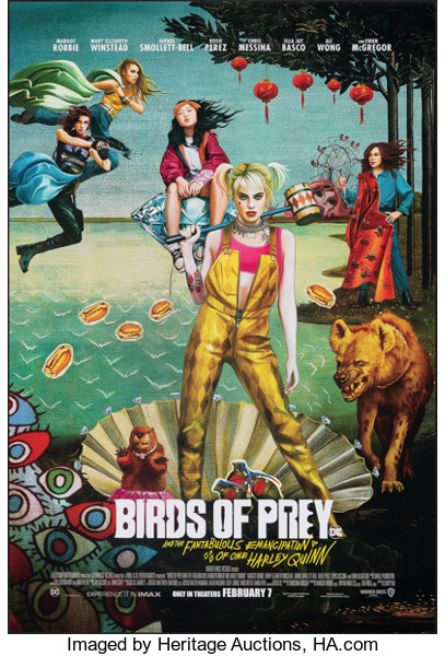 Birds Of Prey And The Fantabulous Emancipation Of One Harley Quinn Lot 52053 Heritage Auctions