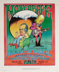 Music Memorabilia:Posters, Moby Grape Avalon Ballroom Concert Poster (Sound Proof Productions,1969). Moby Grape were one of the very best of the Bay A...