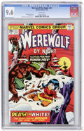 Bronze Age (1970-1979):Horror, Werewolf by Night #31 (Marvel, 1975) CGC NM+ 9.6 White pages....