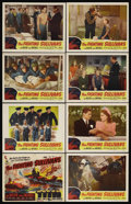 "Movie Posters:War, The Fighting Sullivans (Realart, R-1951). Lobby Card Set of 8 (11""X 14""). War. Starring Anne Baxter, Thomas Mitchell, Selen...(Total: 8 Items)"