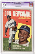 Golden Age (1938-1955):Non-Fiction, Don Newcombe #nn (Fawcett, 1950) CGC Apparent FN/VF 7.0 Slight (A)Off-white to white pages....