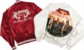 "Music Memorabilia:Costumes, Alabama Tour Jackets. Includes a burgundy nylon jacket from their1983 ""The Closer You Get Tour"" with white logo on black, a..."