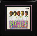 "Music Memorabilia:Autographs and Signed Items, Rolling Stones Signed ""Flowers"" Album Cover. An original cover tothe 1967 album, signed by Mick Jagger, Brian Jones, Bill W..."