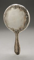 Other:American, AN AMERICAN SILVER HAND MIRROR. Gorham, Providence, RI, EarlyTwentieth Century. Hallmark to the side with STERLINGC194...