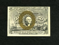Fractional Currency:Second Issue, Fr. 1318 50c Second Issue New. Three wide margins expose plate number 75 on this note. This note was formerly lot 32 of Part...