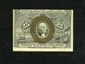 "Fractional Currency:Second Issue, Fr. 1283 25c Second Issue Choice About New. A small corner fold is noticed along with a pencilled ""19"" and a partial plate n..."
