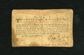 Colonial Notes:New York, New York August 25, 1774 (Water Works) 8s Fine. A hard center fold,a couple of spots, and soiling inhabit this scarce Water...