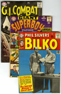 Golden Age (1938-1955):Miscellaneous, DC Silver Age Mixed Group (DC, 1959-64) Condition: Average VG.... (Total: 4)