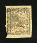 Colonial Notes:Delaware, Delaware January 1, 1776 6s Choice New. This note exhibits boldsignatures, excellent print quality, and three huge margins....