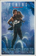 """Movie Posters:Science Fiction, Aliens (20th Century Fox, 1986). Folded, Very Fine-. One Sheet (27"""" X 41"""") SS. Science Fiction.. ..."""