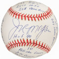 Autographs:Baseballs, Joe Morgan Single Signed & Inscribed Baseball. Of...