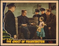 "The Ghost of Frankenstein (Universal, 1942). Fine+. Lobby Card (11"" X 14""). Horror"