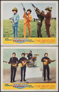Movie Posters:Rock and Roll, Help! (United Artists, 1965). Fine/Very Fine. Lobb...