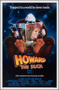 """Howard the Duck & Other Lot (Universal, 1986). Rolled, Very Fine. One Sheets (12) (27"""" X 41""""& 26.75&qu..."""