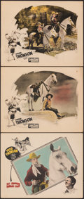 Movie Posters:Western, Lone Hand Saunders & Other Lot (FBO, 1926). Fine/Very Fine...
